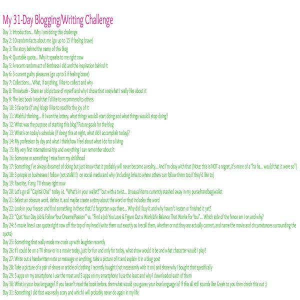 31-Day Blogging_Writing Challenge-Post