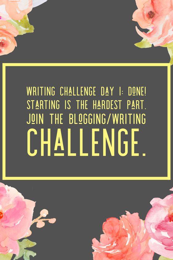Challenge Day 1