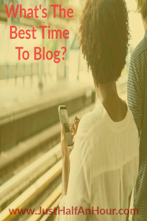 What's Your Best BloggingTime?